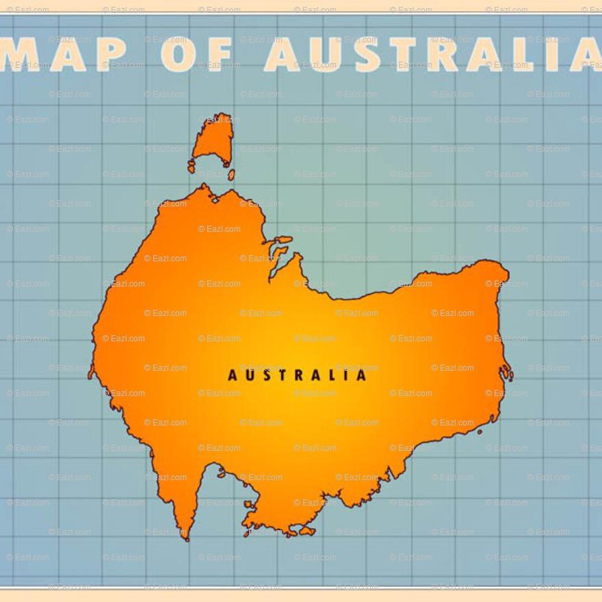 Eazl upside down australia maps subject art shop more views gumiabroncs Image collections